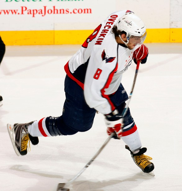Image result for ovechkin shooting