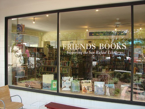 Black Friday (and Saturday) Book Sale at Friends Books, November 29 & 30, 10:00 - 4:00 pm. C Street between 4th & 5th