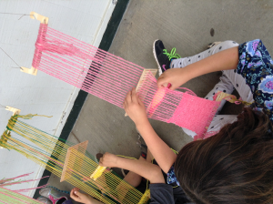 Weaving for Tweens @ Pickleweed Library | San Rafael | California | United States