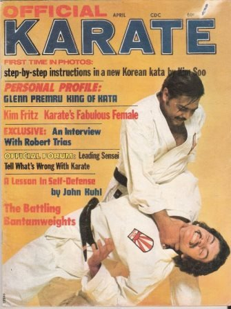 official-karate-magazine-april-1972