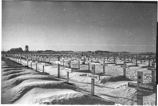 кладбище немецких солдат