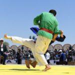 Кураш- узбекская борьба
