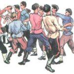 Кулачный бой донских казаков