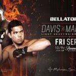 Смотреть онлайн Bellator 245: Дэвис vs. Мачида 2 — прямой эфир 11 сентября 2020