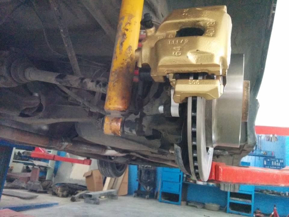 E36 318ti Big brake adapter kit