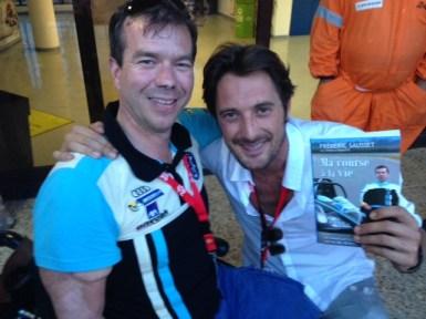 Avec Vincent CERRUTTI