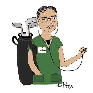 Ilustración Personalizada Médico