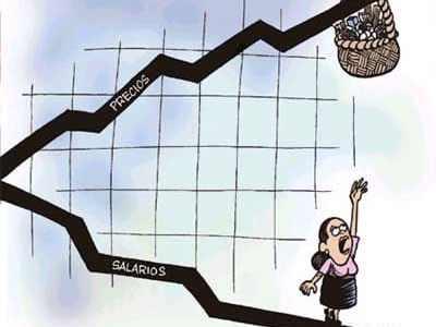 Les dades de l'IPC exigeixen la pujada de salaris