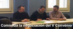 Comienza la negociación del V Convenio