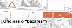 """¿Oficinas o """"bazares""""?"""