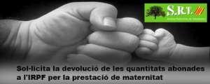 Devolució de l'IRPF de les prestacions per maternitat