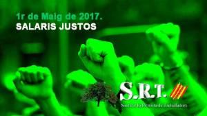 1r de Maig de 2017. SALARIS JUSTOS
