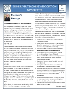 SRTA Newsletter May 2016-tn