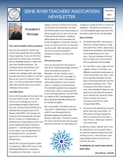 SRTA december newsletter 2015 tn