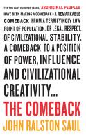 The Comeback – John Ralston Saul