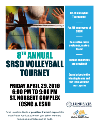 SRSD Volleyball 2016
