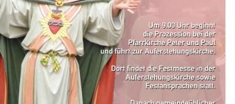Herz-Jesu-Sonntag 2019