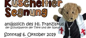 Kinder – Kuscheltier Segnung in der Hl. Geist Kirche