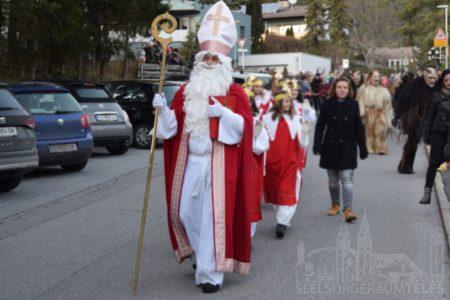 Der Nikolaus in Telfs