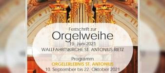 Orgelweihe St. Antonius Rietz (Update 22. Mai)