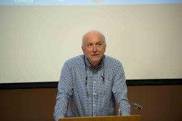 Prof. Edwin Williamson gives a talk to mark the 400th anniversary of Cervantes