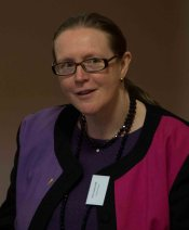 Prof. Catriona Seth on the 'Building Bridges' panel 2016. Prof. Seth also presented a new project on adaptations of Les Liaisons dangereuses
