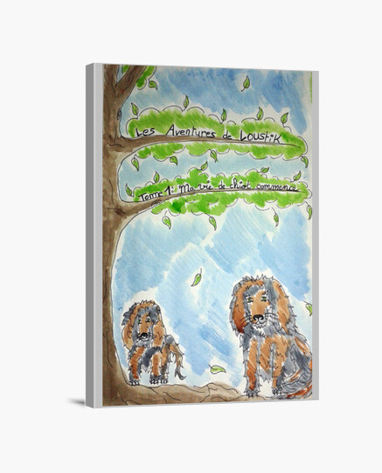 Impression sur toile Loustik : le héros de votre enfant en décoration !