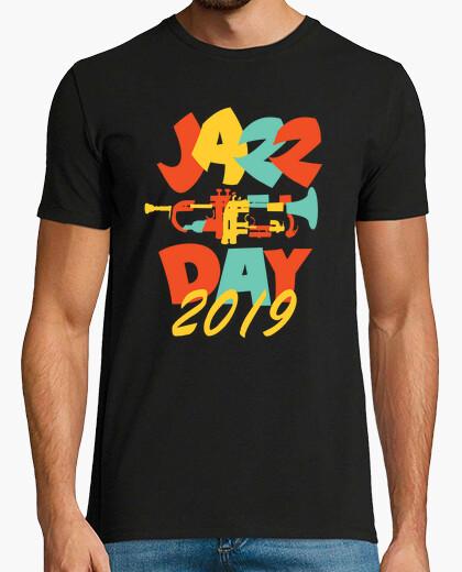 Fancy Creative Jazz Day Design t-shirt