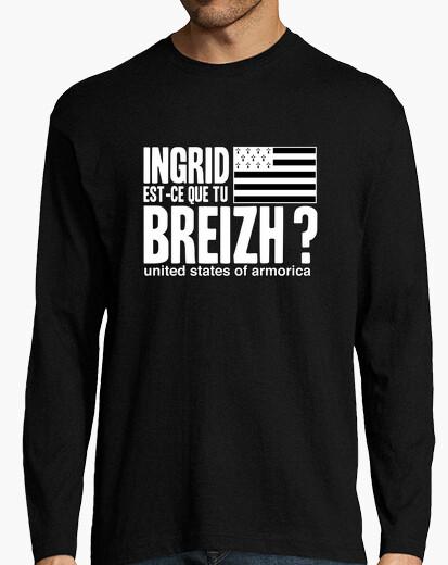 Ingrid Est Ce Que Tu : ingrid, Tee-shirt, Ingrid, Est-ce, Breizh, Tostadora.fr