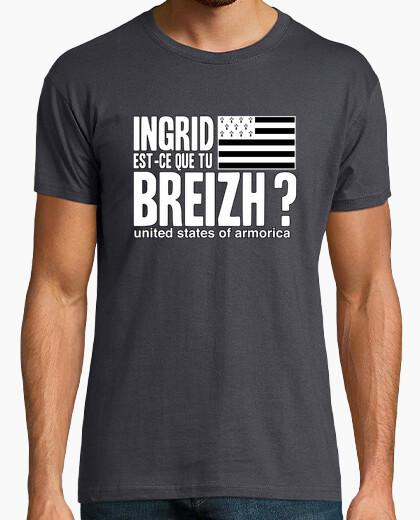 Ingrid Est Ce Que Tu : ingrid, Tee-shirt, Ingrid, Est-ce, Breizh, Tostadora