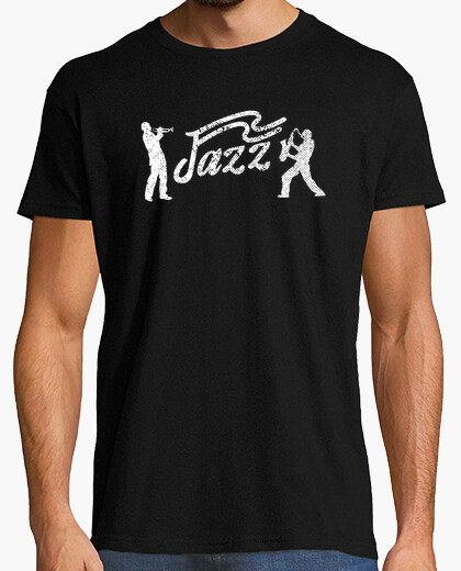 Jazz Duo with Saxophone and Trumpet Play t-shirt