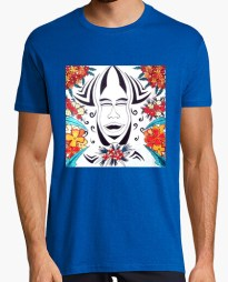 Tee-shirt Maori Art Tribal Flowers,T Shirt homme