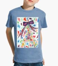 Vêtements enfant Paris Confettis, t-shirt enfant
