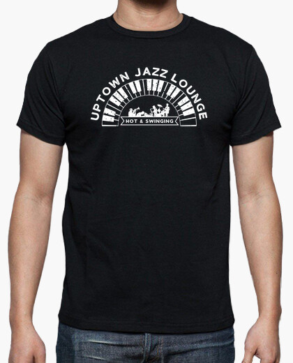 Uptown Jazz Lounge Vintage Style t-shirt