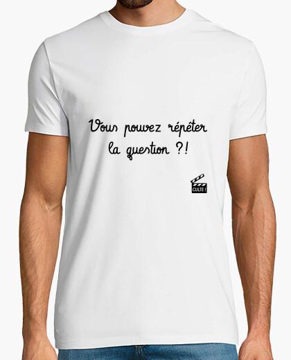 Vous Pouvez Répéter La Question : pouvez, répéter, question, Tee-shirt, Pouvez, Répéter, Question, Tostadora.fr