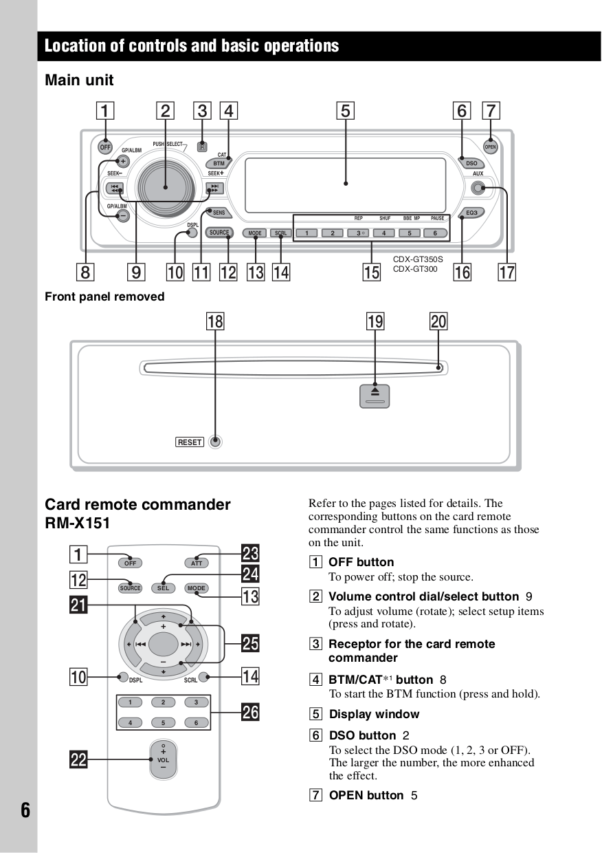 medium resolution of  cdxgt300 pdf 5 pdf manual for sony car receiver cdx gt300 sony cdx gt300 wiring