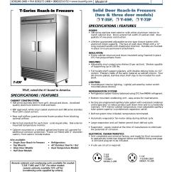 True T49f Wiring Diagram Weg 3 Phase Motor Download Free Pdf For T 49f Freezer Manual