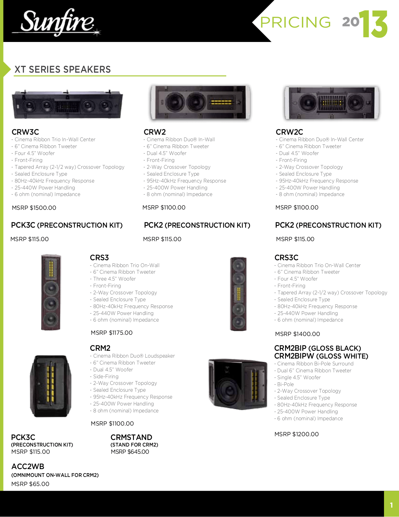 Download free pdf for Sunfire True Subwoofer Super Junior