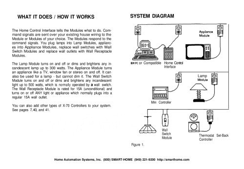 small resolution of pdf manual for x10 other mc460 home automation system x10 mc460 wiring diagram