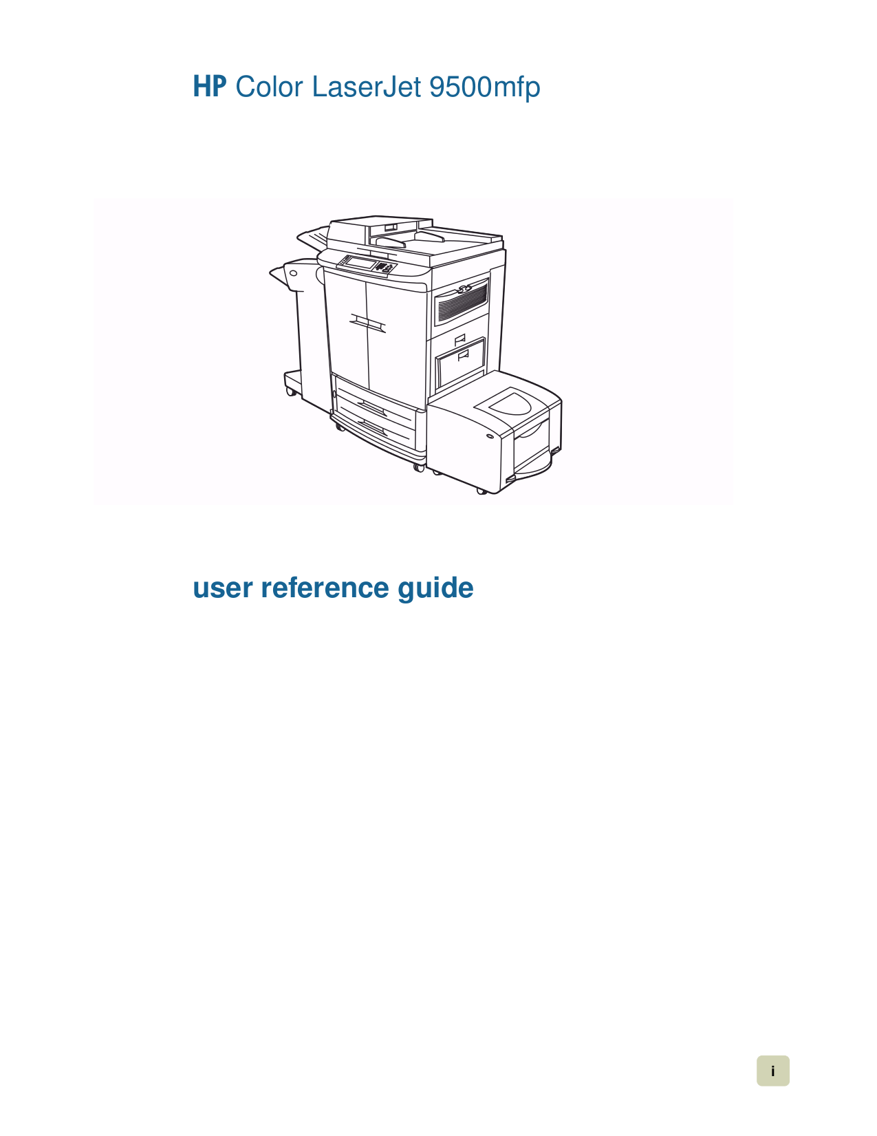 PDF manual for HP Multifunction Printer Laserjet,Color