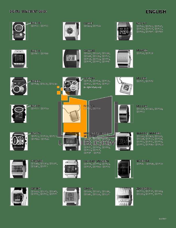 Download free pdf for Diesel DZ7122 Watch manual