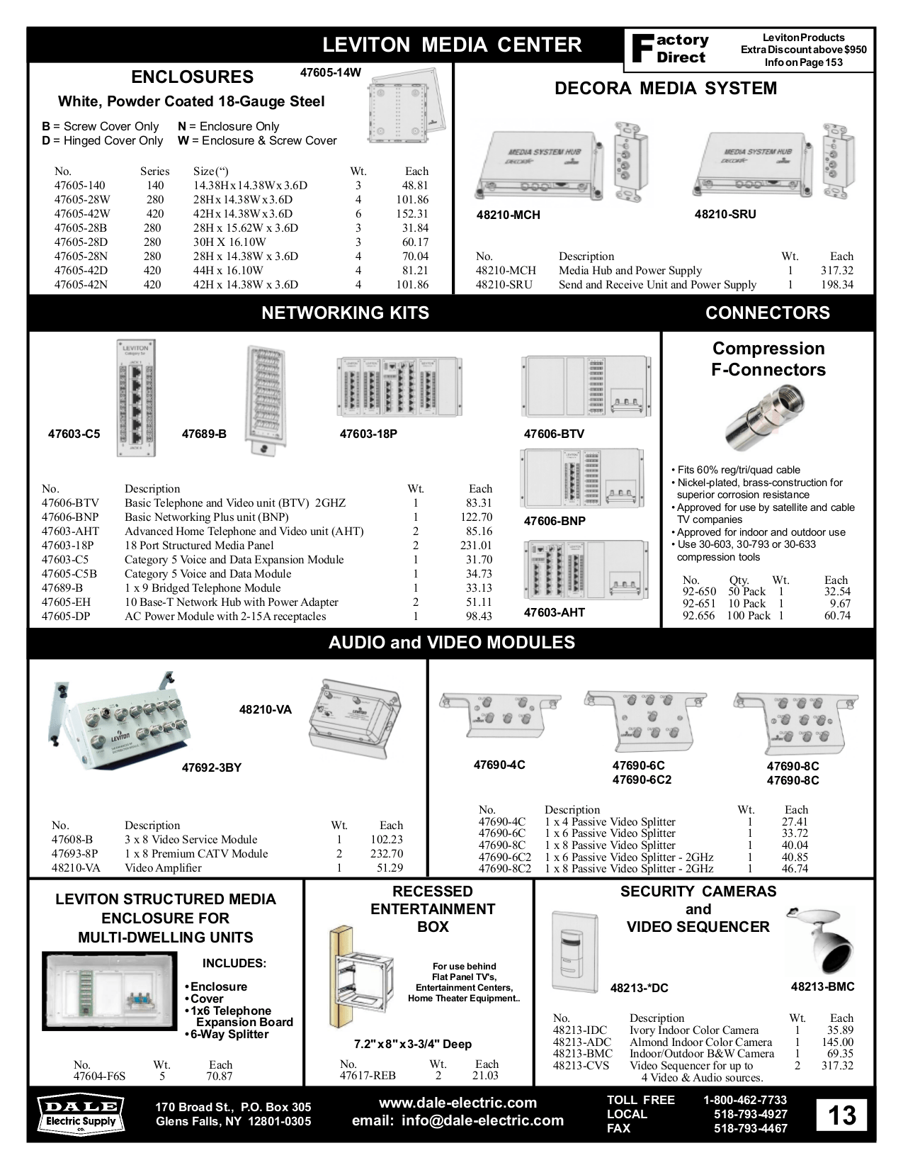 Download free pdf for Leviton 48213-CVS Video Sequencer