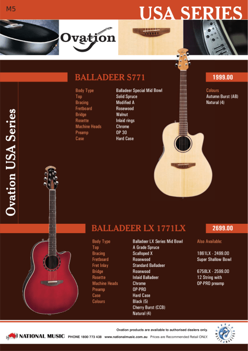 small resolution of  ovation guitar cse44 pdf page preview