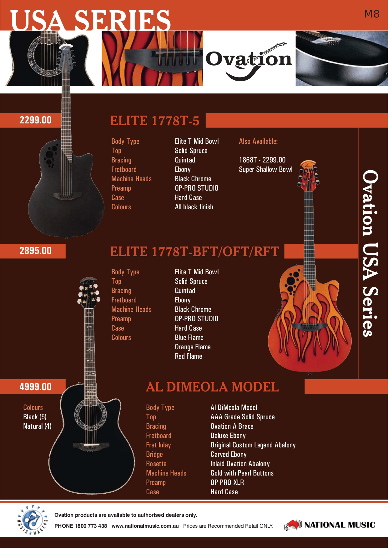 hight resolution of  ovation guitar cse44 pdf page preview