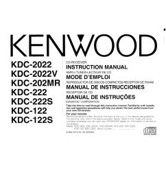 pdf for kenwood car receiver kdc 222 manual [ 1273 x 1648 Pixel ]