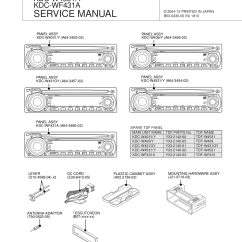 Kenwood Kdc Mp142 Wiring Diagram 2 Ford Charging System Pdf Manual For Car Receiver 222
