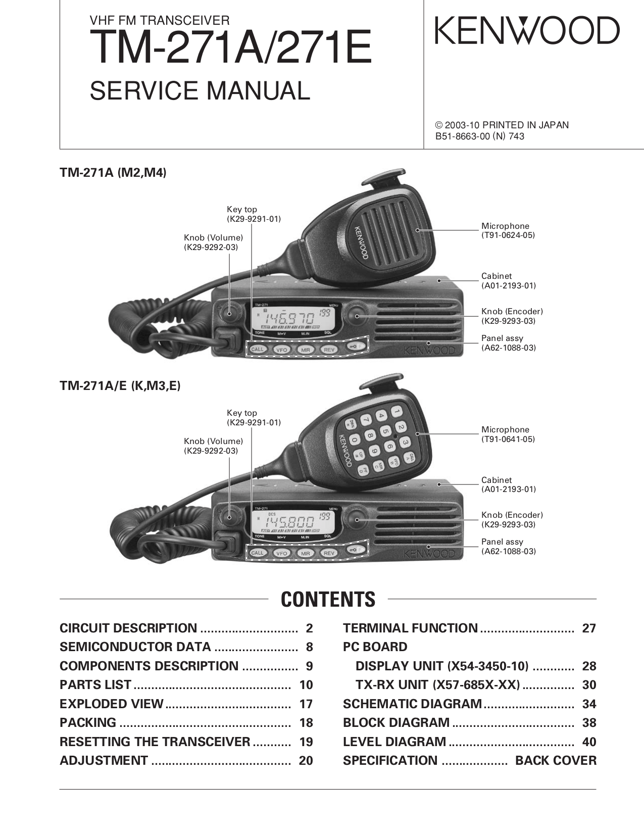 Download free pdf for Kenwood KDC-222 Car Receiver manual