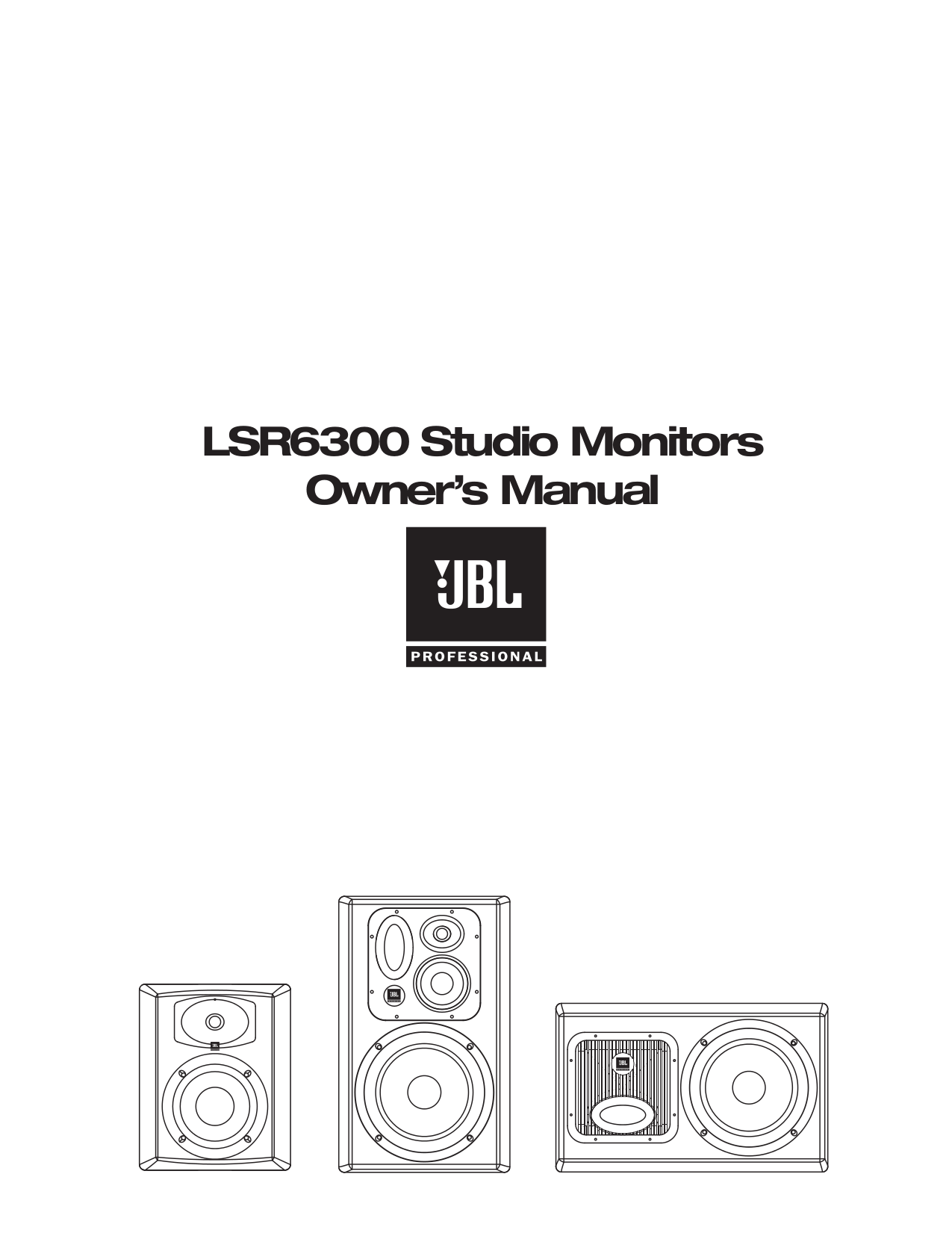 Download free pdf for JBL Balboa SUB/230 Subwoofer manual