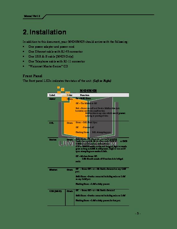 PDF manual for Gateway Laptop M405