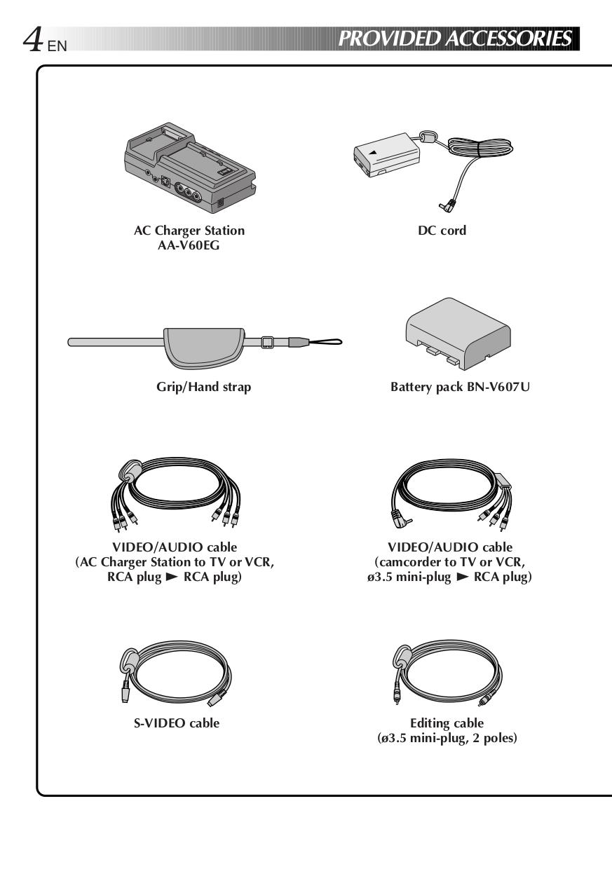PDF manual for JVC Camcorders GR-DVM55EG